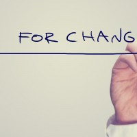Change takes will power