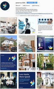 PARAMOUNT PROPERTIES WEST HAMPSTEAD INSTAGRAM