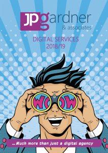 JP Gardner & Associates Digital Services Brochure Jan 2019