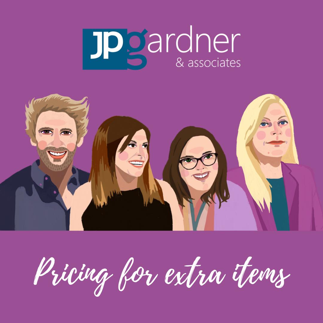 JP Gardner & Associates Social Media Pricing