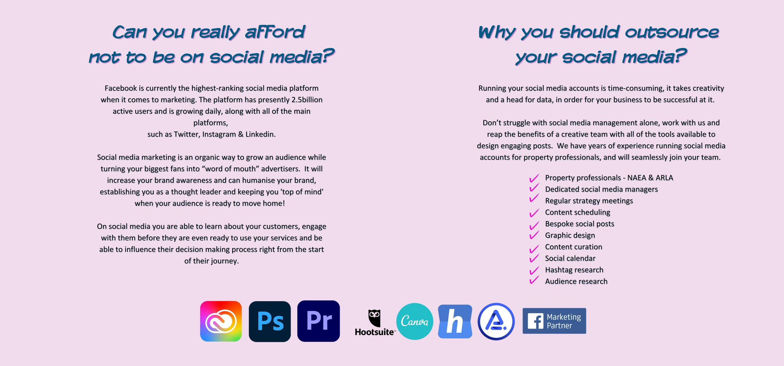 Can your business really afford not to be on social media by Jane Gardner