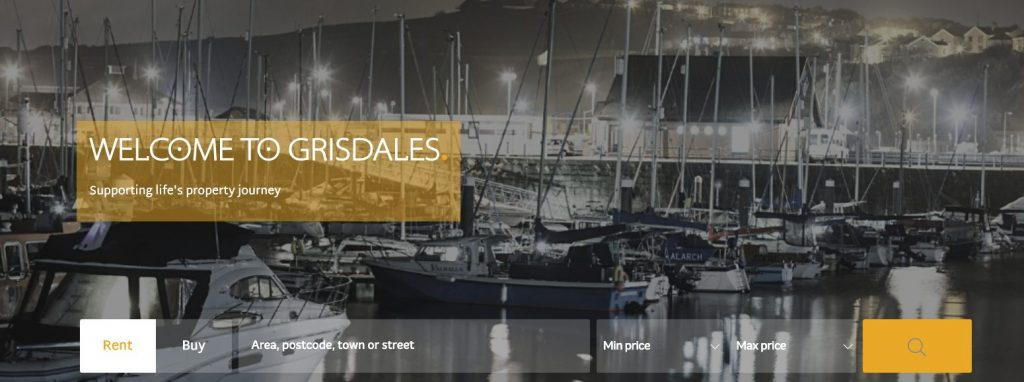 Our Website Showcase for Grisdales Property Services