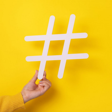 Hashtags for relevant platforms