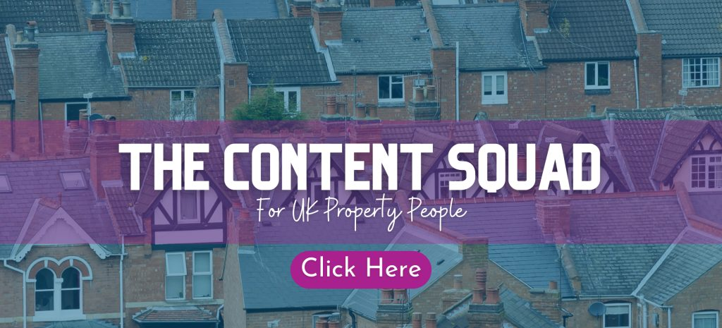 The Content Squad digital marketing content for estate and letting agents and property industry